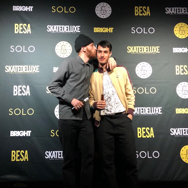 Bright European Skateboard Awards - Remy Taveira