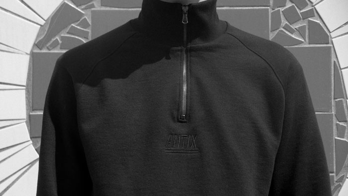 ANTIX Half Zip Sweatshirt