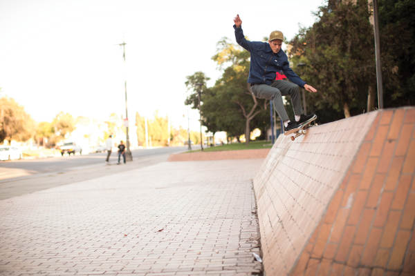 RVCA Kevin Long Feeble Grind