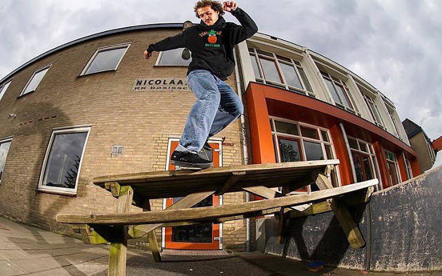 Frank Skateboards Skate Team | Rob Maatman | BS Noseblunt