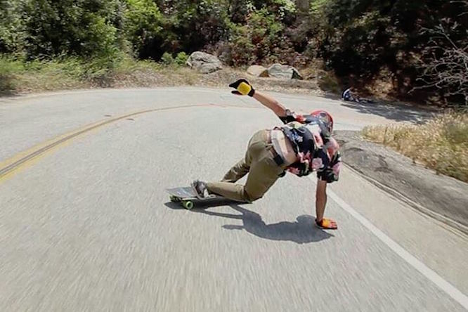 Randal Trucks - Downhill BS Slide