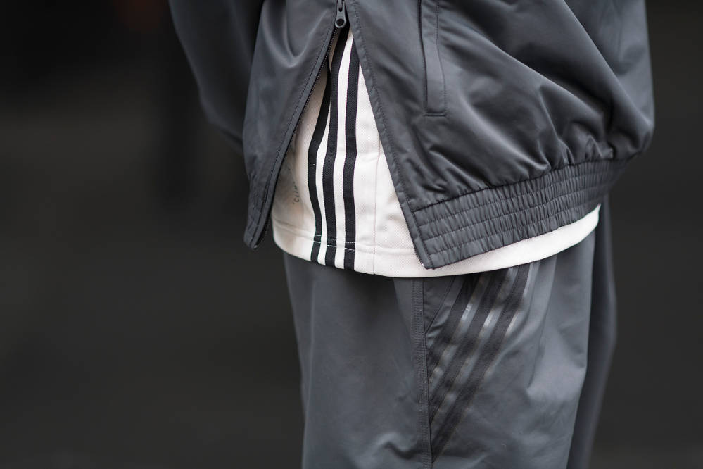 adidas X Numbers Jacket, Jersey, Pants closeup