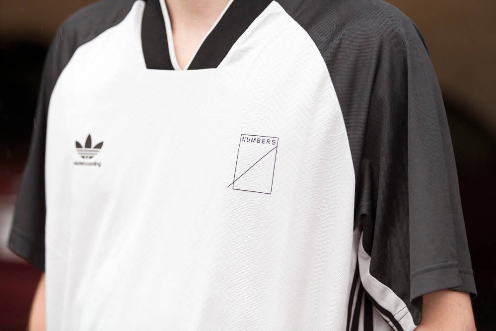 adidas X Numbers Jersey front