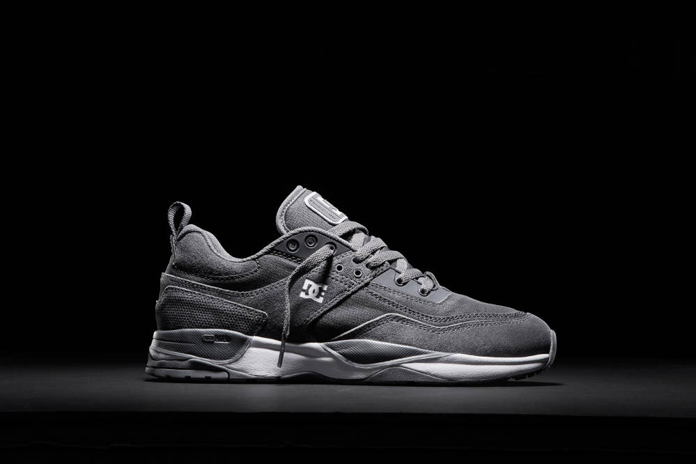 DC Shoes E.Tribeka Skate Shoe Pewter