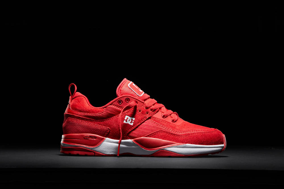 DC Shoes E.Tribeka Skate Shoe Red