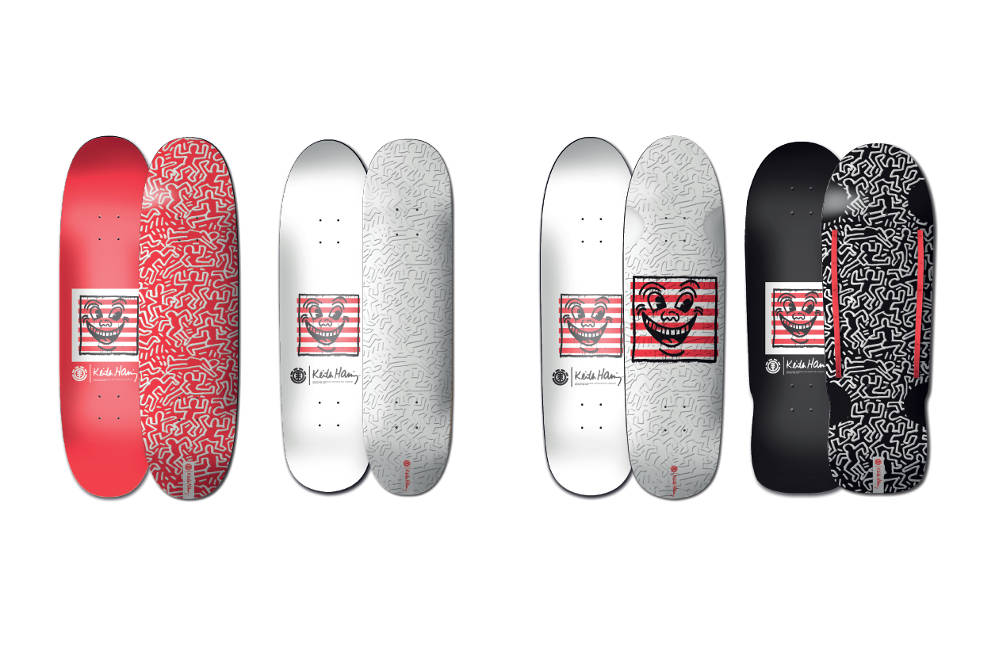 Element x Keith Haring Decks