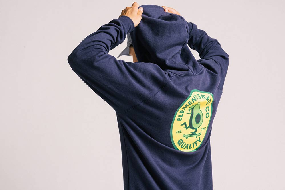 Element Skateboards YAWYE Avocado hoodie
