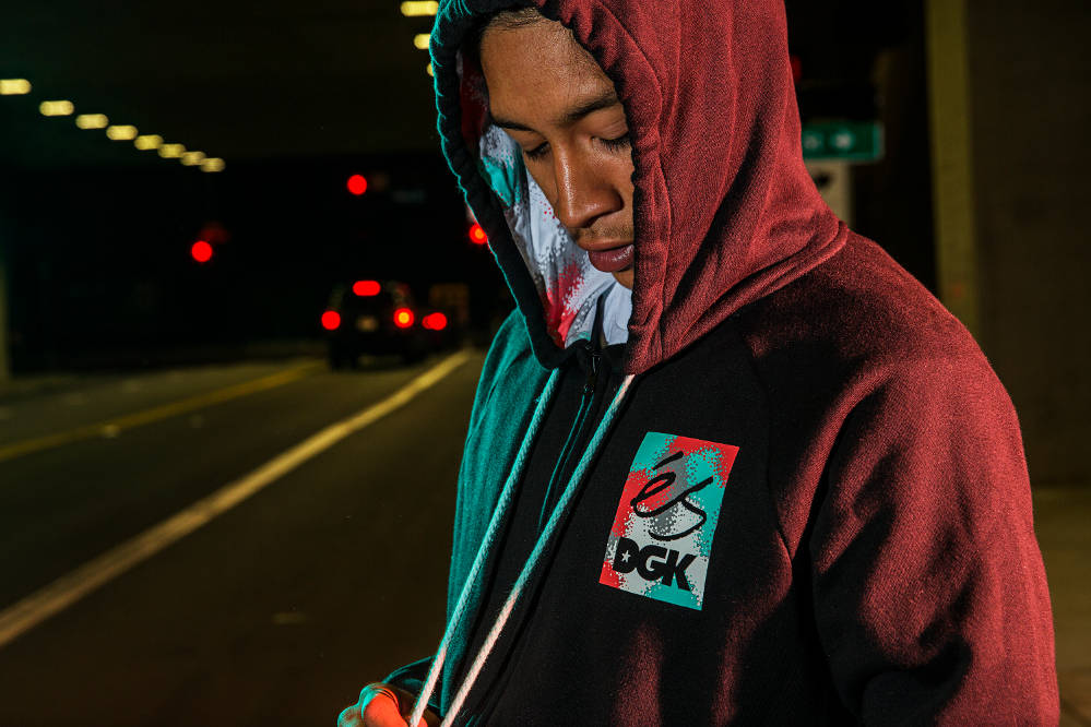 éS x DGK Streetwear Collection Zip Hoodie