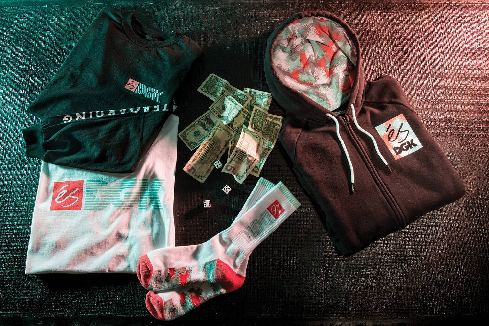 éS x DGK Streetwear Collection Full Range