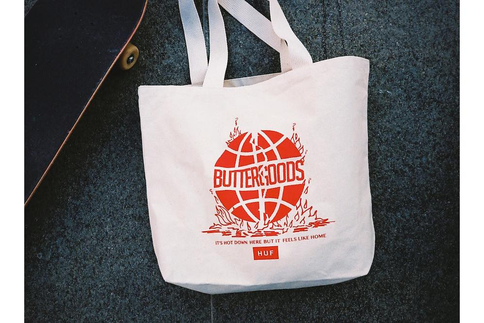 HUF x Butter Goods Feels Like Home Tote Bag