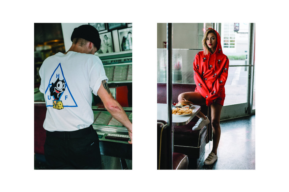 HUF x Felix The Cat Lifestyle Lookbook