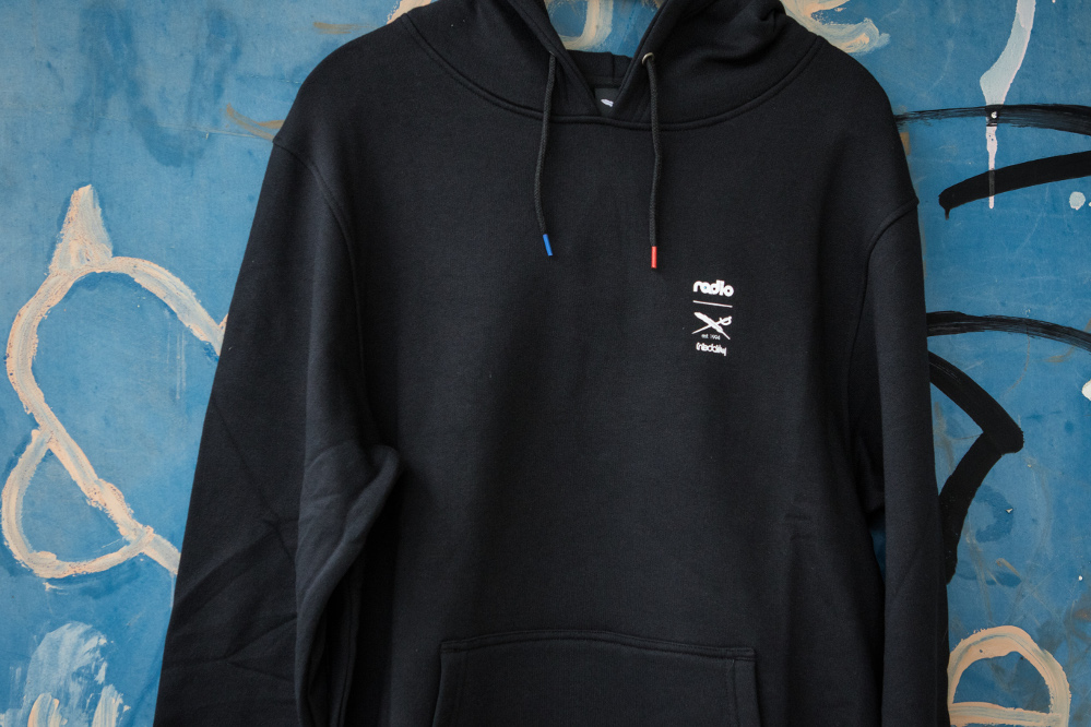 Iriedaily x Radio Skateboards collection | Hoodie | Front