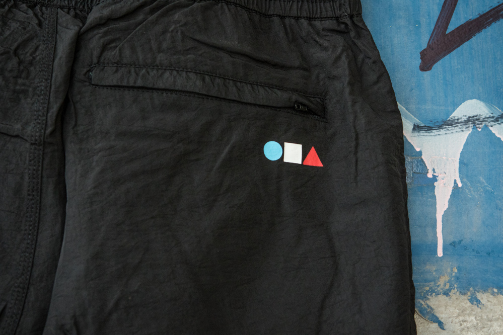 Iriedaily x Radio Skateboards collection | Track Suit Pant | Back