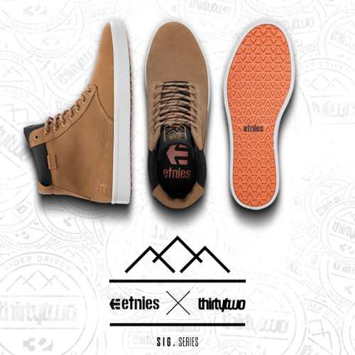 etnies x ThirtyTwo