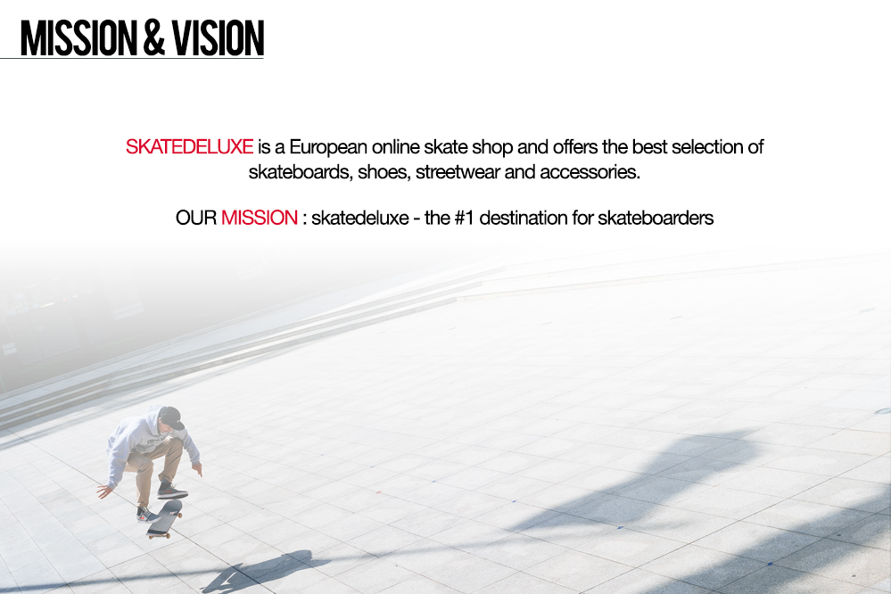 skatedeluxe Mission & Vision