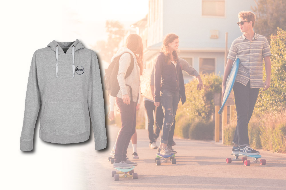 Free hoodie with every Penny complete longboard