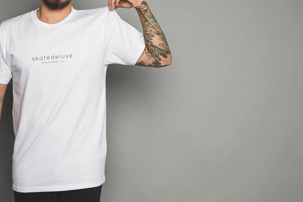 Free SK8DLX T-Shirt choosable with every order exceeding 300 GBP