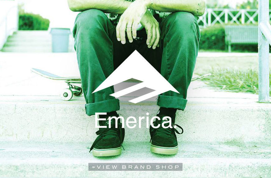 Emerica Online shop at skatedeluxe