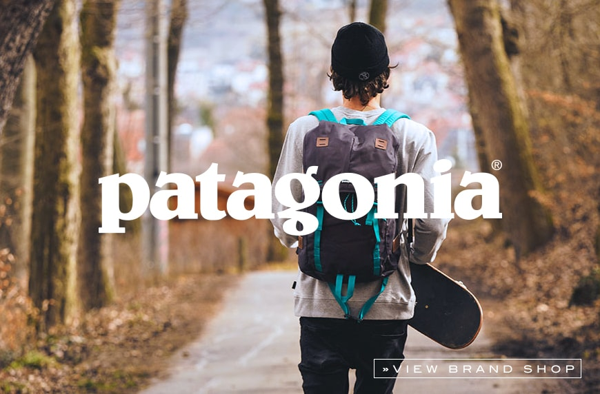 Patagonia Online shop at skatedeluxe