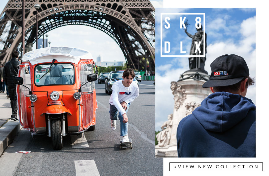 The SK8DLX Decade Collection - Skate Styles with a 90s spirit! | skatedeluxe