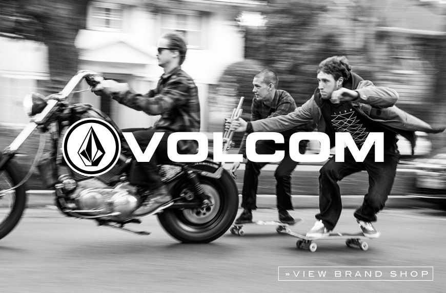 Volcom Online shop at skatedeluxe