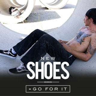 Shoes at the skatedeluxe Onlineshop