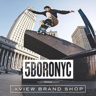 5BORO Online shop at skatedeluxe