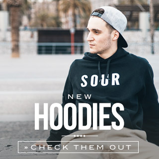 Hoodies at the skatedeluxe Onlineshop