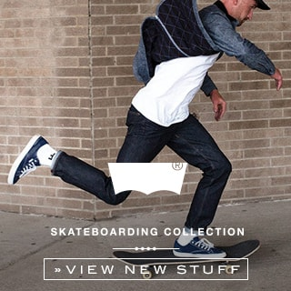 Levis Online shop at skatedeluxe