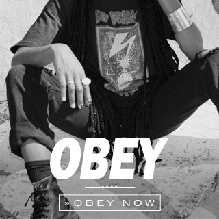 Obey Online shop at skatedeluxe