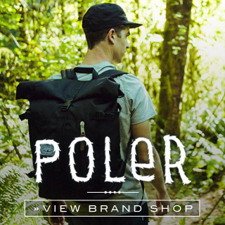 Poler Online shop at skatedeluxe