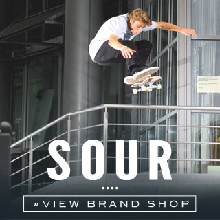 Sour Skateboards Online shop at skatedeluxe