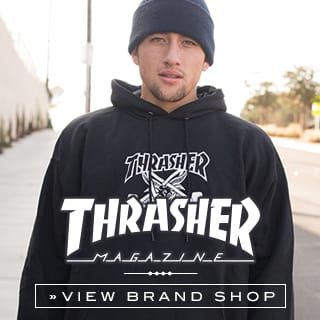Thrasher Skateboard Mag. Hoodies, Shirts and more at skatedeluxe