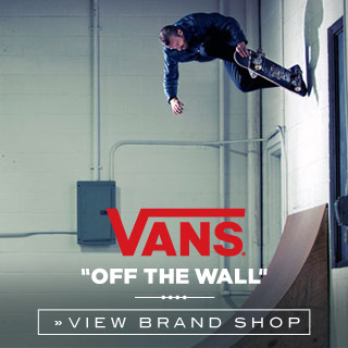 Vans Online shop at skatedeluxe