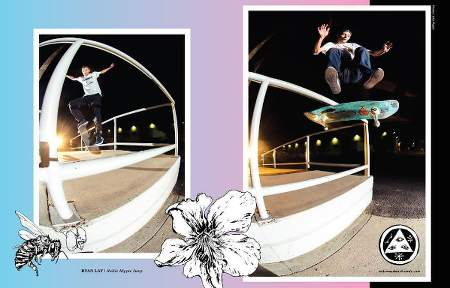 Welcome Skateboards Ad