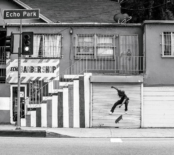 DC Shoes Skate Team Cyrill Jackson Tre-Flip