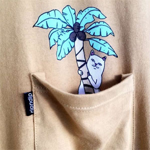 RipnDip Shirt Pocket Details