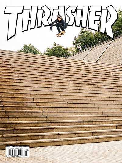 Who made it onto the Thrasher Cover definitely delivered. This times Jaws.