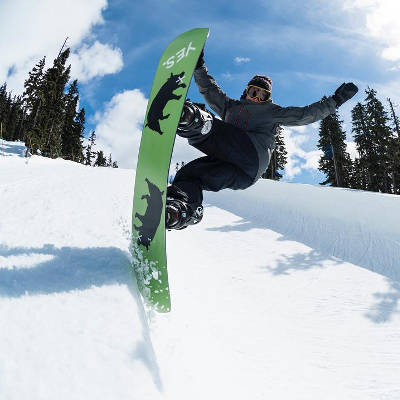 Yes Snowboard Team Austen Sweeting Bluntslide