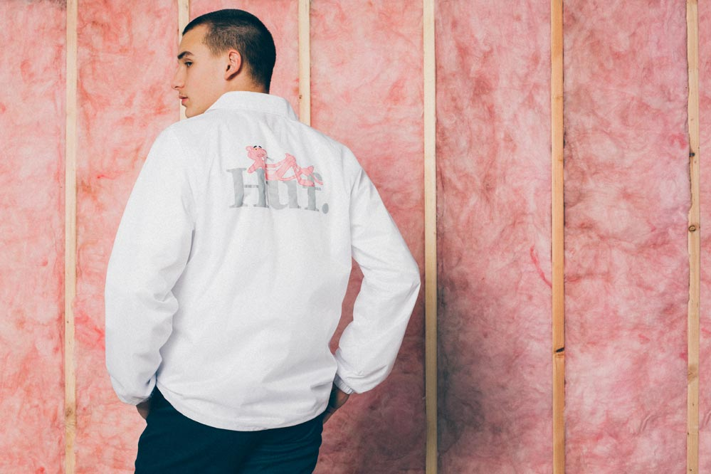HUF x Pink Panther Coach Jacket