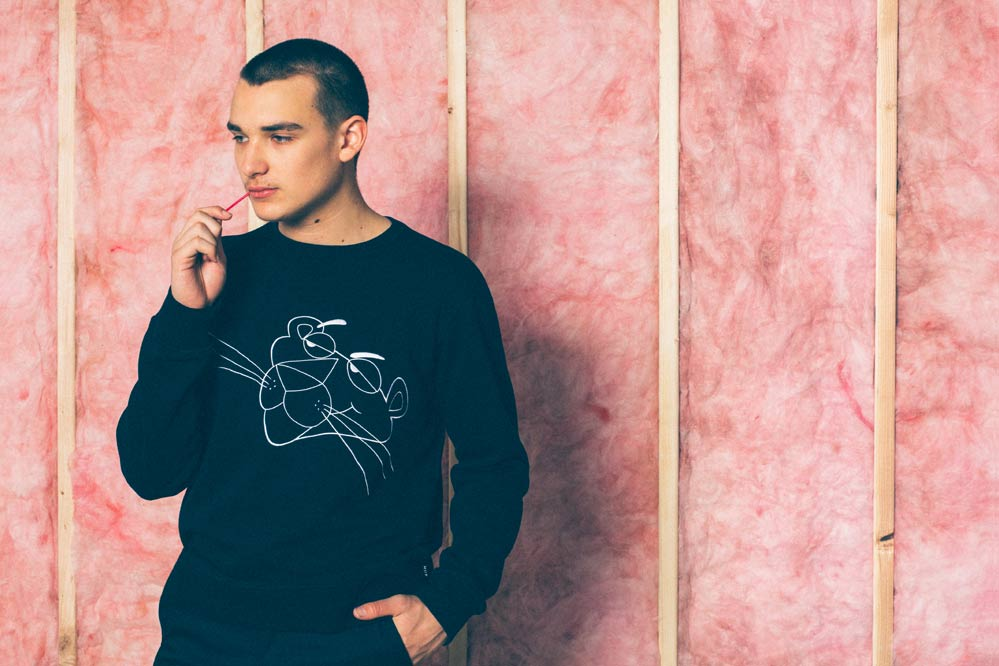 HUF x Pink Panther collectie
