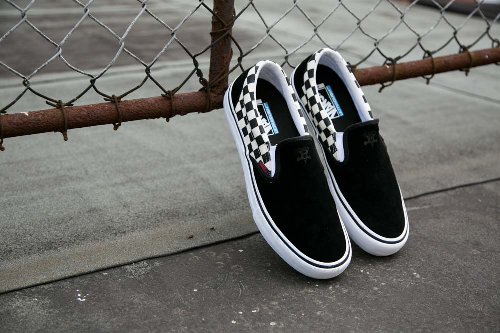 Vans x Thrasher Slip-On Chess Logo Shoe